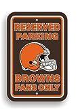 NFL Cleveland Browns Plastic Parking Sign