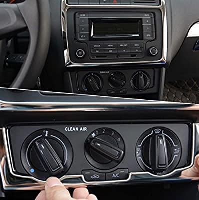 Embellecedor de radio FFZ Parts Klima para Polo 6R C6 GTI TDI TSI ...