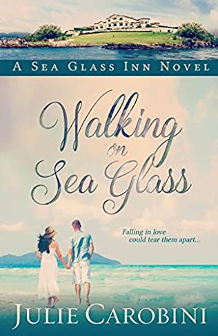 book cover of Walking on Sea Glass