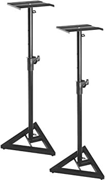 On-Stage SMS6000 Adjustable Studio Monitor Stand (Pair)