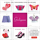 download ebook girligami kit: a fresh, fun, fashionable spin on origami: origami for girls kit with origami book, 60 high-quality origami papers: great for kids! pdf epub