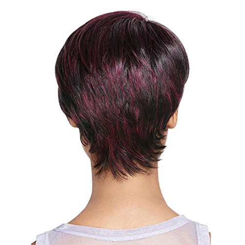 Amazon.com : Short Mixed Red Wig Short Pixie Cuts Wigs For Black Women African American Short Hair Wig : Beauty