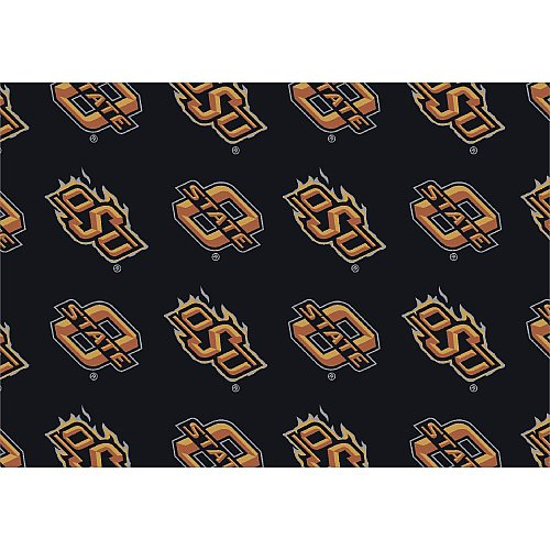 Oklahoma State Cowboys College Team Repeat 5x7 Rug from Miliken