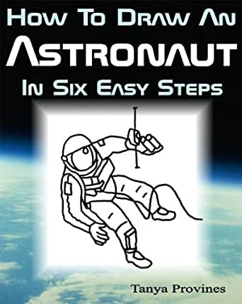 how to draw an easy astronaut step by step