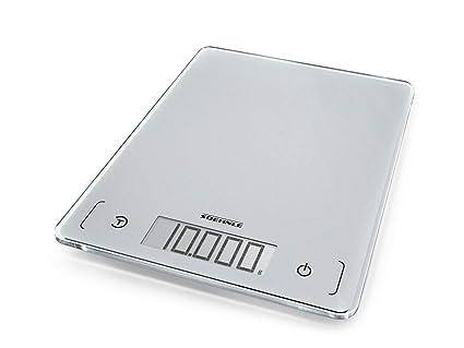 Soehnle Page Comfort 300 Slim - Báscula de cocina digital, color plata