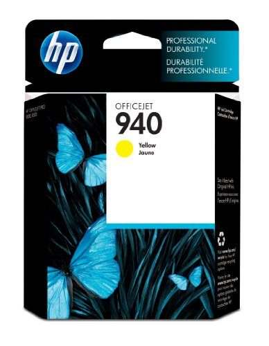 HP 940 Yellow Original Ink Cartridge (C4905AN) for HP Officejet Pro 8000 8500