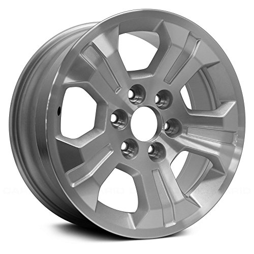 (Value 5 Spokes Machined and Silver Factory Alloy Wheel OE Quality Replacement)