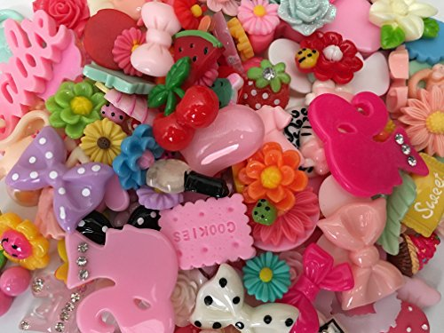 UPC 713095635285, Chenkou Craft 50pcs Lots Mix Assort Easter DIY Flatbacks Resin Flat Back Buttons Scrapbooking