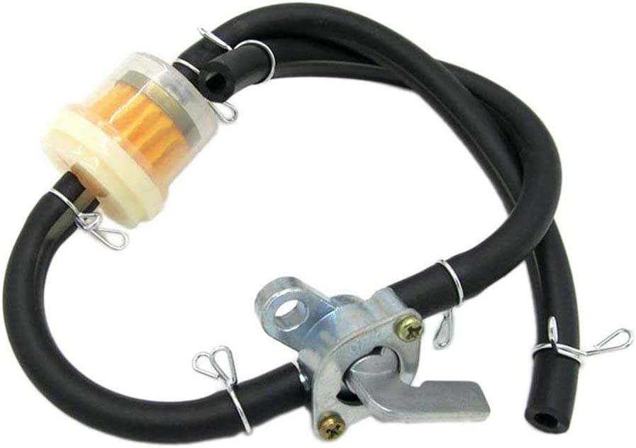 Swiftswan Kraftstoffhahn Benzinhahn f/ür allgemeine Benzinhahn Benzinschalter Generator Benzinmotor Kraftstofftank