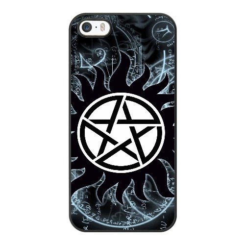 Coque,Apple Coque iphone 5/5S/SE Case Coque, Generic Anti Possession Symbol Cover Case Cover for Coque iphone 5 5S SE Noir Hard Plastic Phone Case Cover