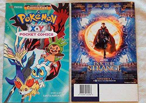 A Pokemon Pocket Comict Mini-Comic Book Halloween Comicfest 2016 - Pokemon Nintendo - Unused, Unread, UNCIRCULATED - Visually Graded 9.8 by ME - THIS IS FOR ONE COMIC BOOK ONLY ()