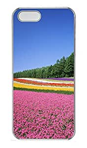 Case For Htc One M9 Cover Nature flowers field PC Custom Case For Htc One M9 Cover Cover Transparent