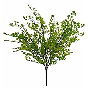 Maiden Hair Fern Bush Grass Fillers Greenery Silk Wedding Flowers Centerpieces 96