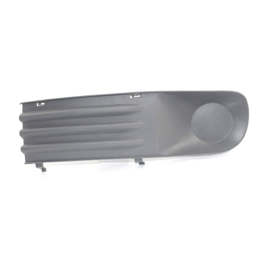 inf/érieur avant gauche et droite Housse ampoule de brouillard Bumper Grille da/ération lat/érale Insert Grilles