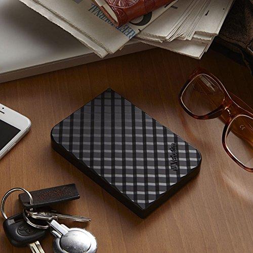 Verbatim 2TB Store 'n' Go Portable Hard Drive, USB 3.0 - Compatible with USB 2.0 - PC / Mac - Diamond Black by Verbatim (Image #4)