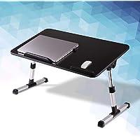 KCO Bandeja de cama con patas plegables, portátil, soporte para computadora portátil, bandeja para el desayuno con…