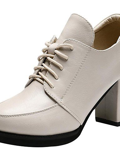 YHUJI GGX/zapatos de mujer zapatos de tacón de oficina/otoño/invierno sintética&carrera/tacón grueso brillo chispeante ocasional negro/, red-us8.5/eu39/uk6.5/cn40, red-us8.5/eu39/uk6.5/cn40 black-us6.5-7 / eu37 / uk4.5-5 / cn37