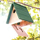 Birdhouse with Hidden Key Box