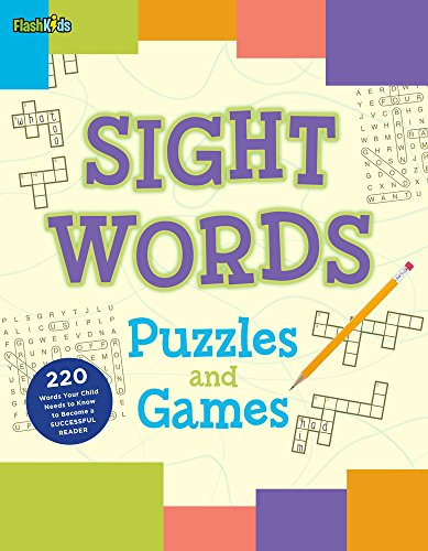 Sight Words Puzzles and Games by Flash Kids
