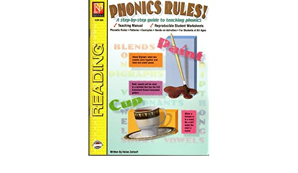 Phonics rules!: A step-by-step guide to teaching phonics (Reading ...