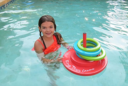514lq9DbOdL - Texas Recreation Floating Foam Ring Toss Game for Swimming Pools