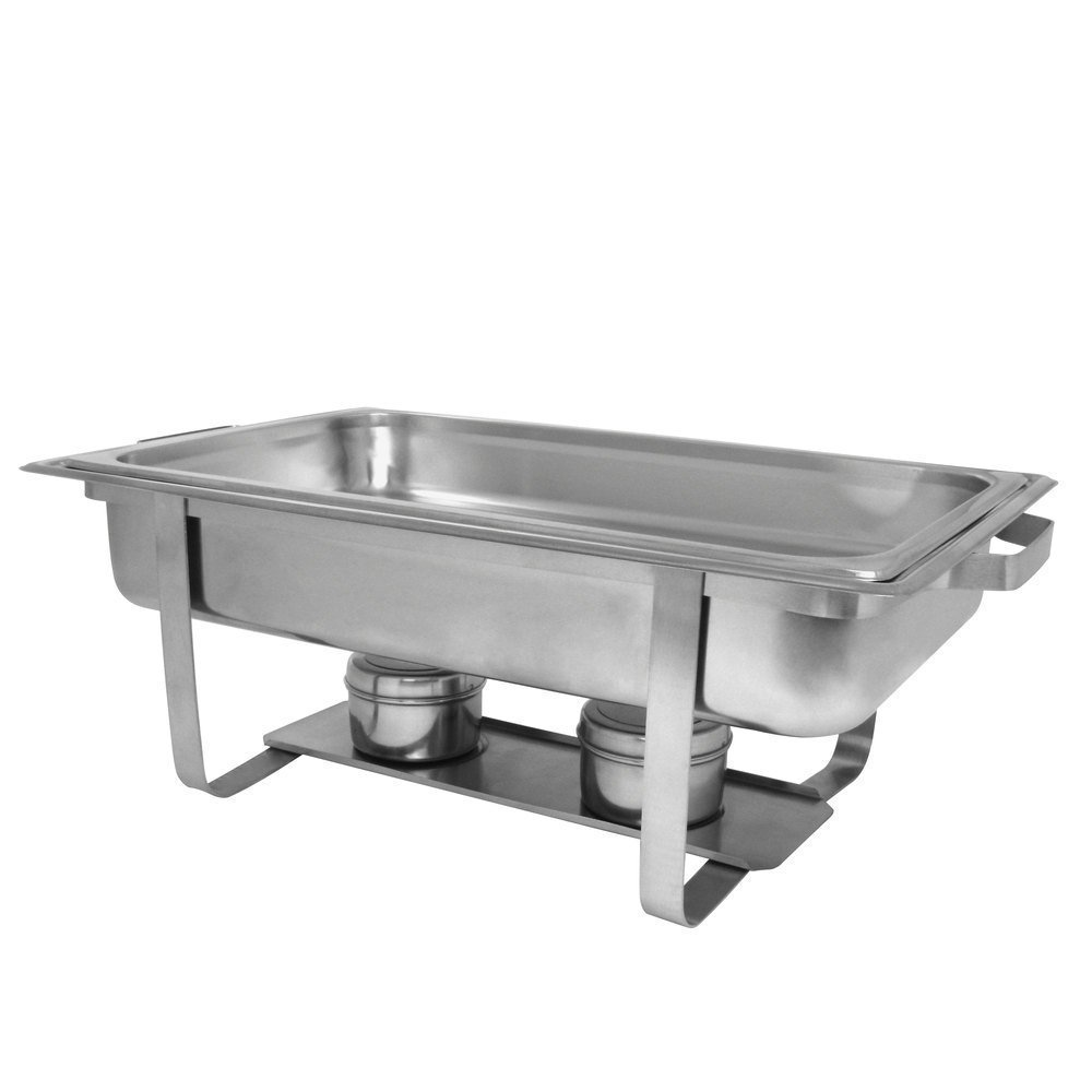 Chafer 4 Pack Premier Chafers Stainless Steel Chafer Dish 8 Qt. Capacity Quantity 4 Chafing Dish Sets Brand New Full Complete Chafer Systems