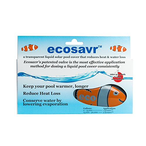 Ecosavr 99999 Solar Fish Liquid Pool Cover for Swimming Pools