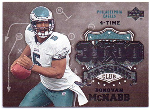 Donovan McNabb 2006 Upper Deck 3000 Yard Passing Club #3KP-DM - Philadelphia Eagles