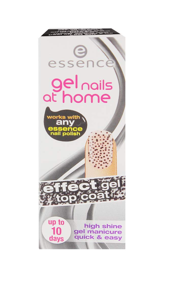 3x essence Gel Nails At Home Effect Gel je 7ml Top Coat 05 quick & easy Cosnova