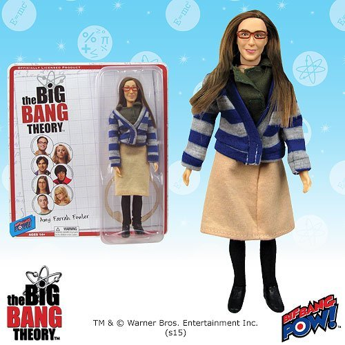 The Big Bang Theory Amy Farrah Fowler 8-inch Action Figure by Entertainment Earth -
