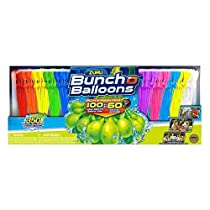 ZURU Bunch O Balloons 350 Water Balloons, Self-Sealing, Quick Fill Water Balloons ( 350 Pack )