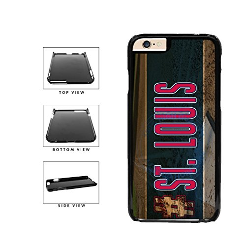 BleuReign(TM) Hashtag St Louis #St Louis Baseball Team Plastic Phone Case Back Cover For Apple iPhone 6 Plus and iPhone 6s Plus (5.5 Inches Screen)
