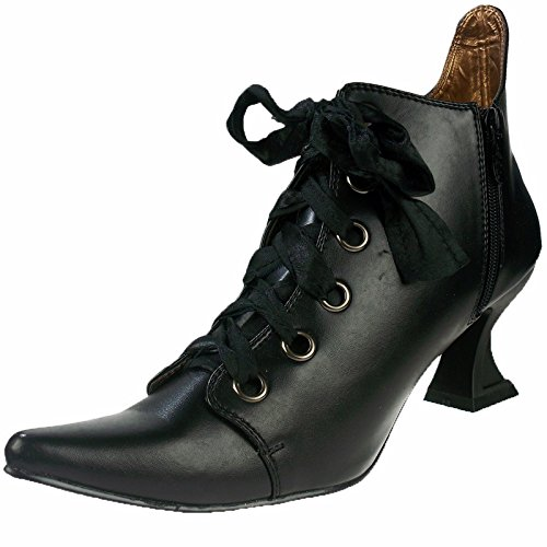 Halloween Shoes (Ellie Shoes Women's 301-Abigail Ankle Bootie, Black, 7 US/7 M US)