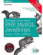 Développer un site web en PHP, MySQL, JavaScript, jQuery, CSS3 e