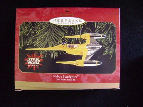 Naboo Starfighter Star Wars Hallmark Christmas (1999 Naboo Starfighter)