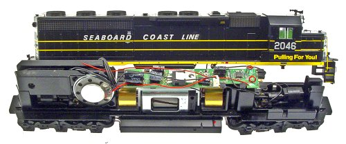 MRC HO Drop-In: Athearn SD45/SD60 - In Decoder Drop