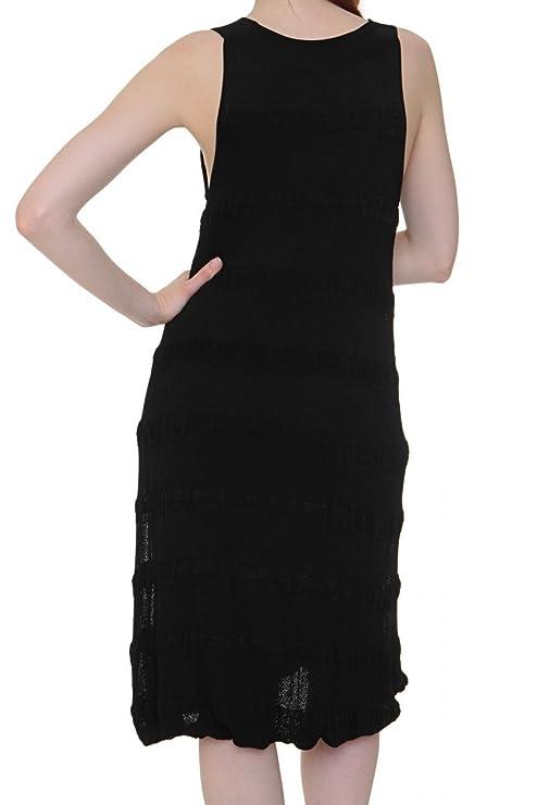 Hugo Boss Naranja vestido de mujer vestido de cóctel llewa, color: negro negro 40: Amazon.es: Ropa y accesorios