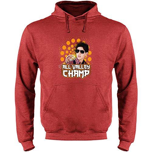Karate Kid All Valley Champion 80s Movie Cobra Kai Mens Fleece Hoodie Sweatshirt