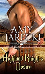 A Highland Knight's Desire (A Highland Dynasty Book)