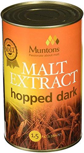 [Muntons Hopped Dark (3.3 lb) Liquid Malt Extract] (Hopped Extract)