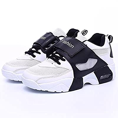 DaChiHua Chaussures De Sport Pour Hommes Chaussures Décontractées Chaussures De Sport Couple Sport Chaussures Outdoor Wearable,Blanc A,44
