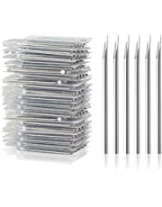 Body Piercing Needles, ATOMUS 14G 16G Stainless Steel Sterile Disposable Ear Nose Navel Nipple Lip Piercing Needles (10pcs 14G)