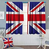 Best Eclipse Home Fashion Thermal Insulated Blackout Curtains Royal Blues - Chaneyhouse Union Jack Thermal Insulating Blackout Curtain Classic Review