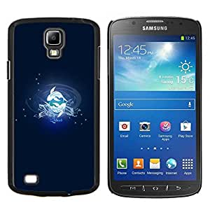 "Be-Star Único Patrón Plástico Duro Fundas Cover Cubre Hard Case Cover Para Samsung i9295 Galaxy S4 Active / i537 (NOT S4) ( Pisces Fish Signo del Zodiaco"" )"
