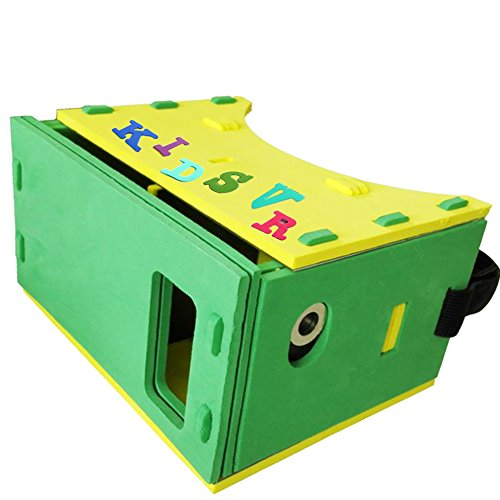 Children VR Headset Box 3D Virtual Reality Glasses Ultra Lig