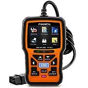 #LightningDeal 93% claimed: FOXWELL NT301 OBD2 Scanner Professional Enhanced OBDII Diagnostic Code Reader