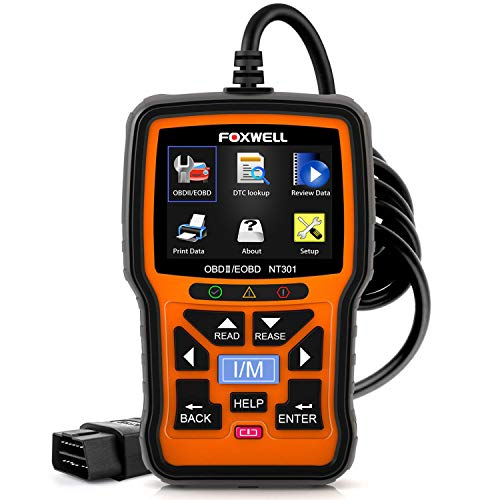 (FOXWELL NT301 OBD2 Scanner Professional Enhanced OBDII Diagnostic Code Reader)