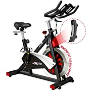 #LightningDeal JOROTO Belt Drive Indoor Cycling Bike with Magnetic Resistance Exercise Bikes Stationary Bike