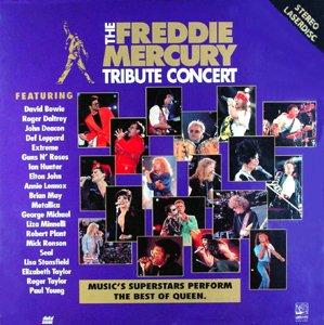 - The Freddie Mercury Tribute Concert LASERDISC (Laserdisc)