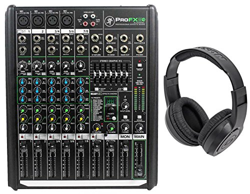 8 interface mixer mackie - 3